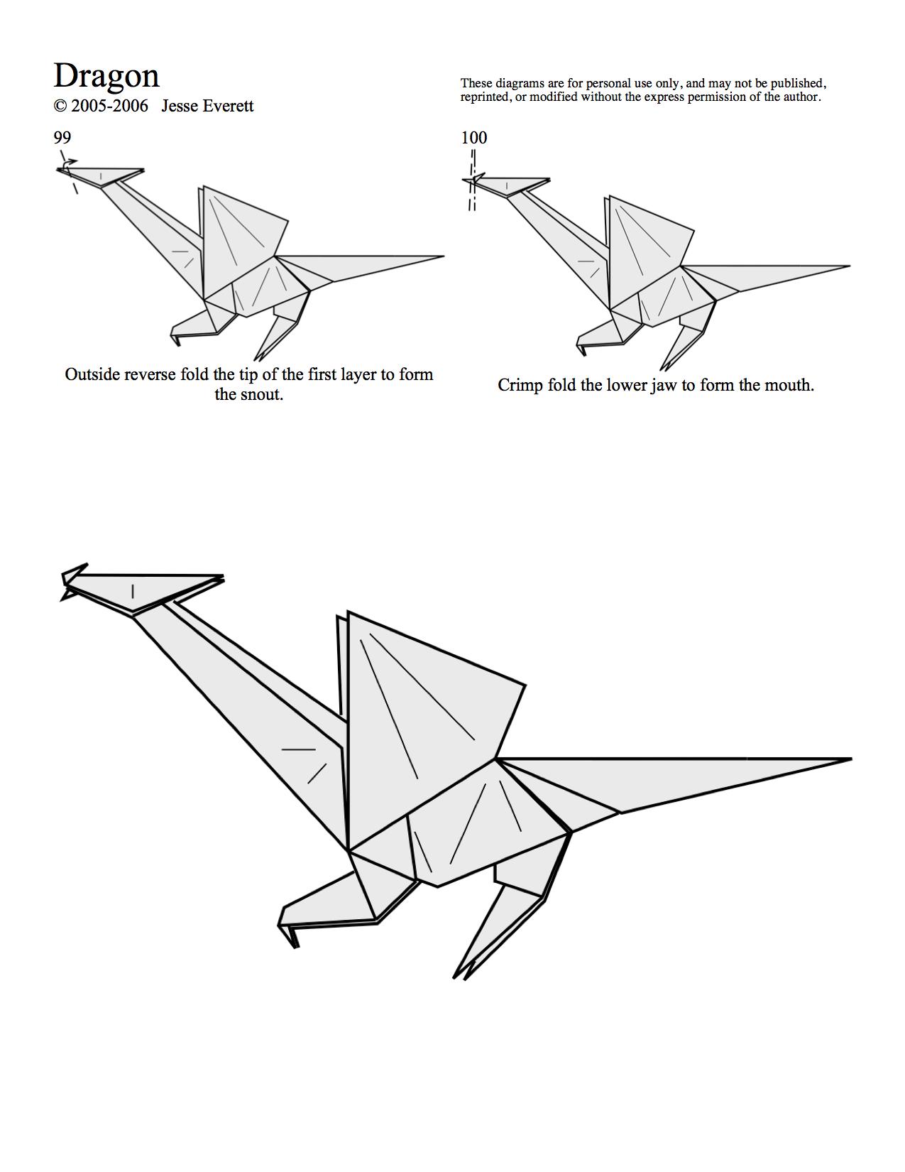 Origami Dragon Page 10