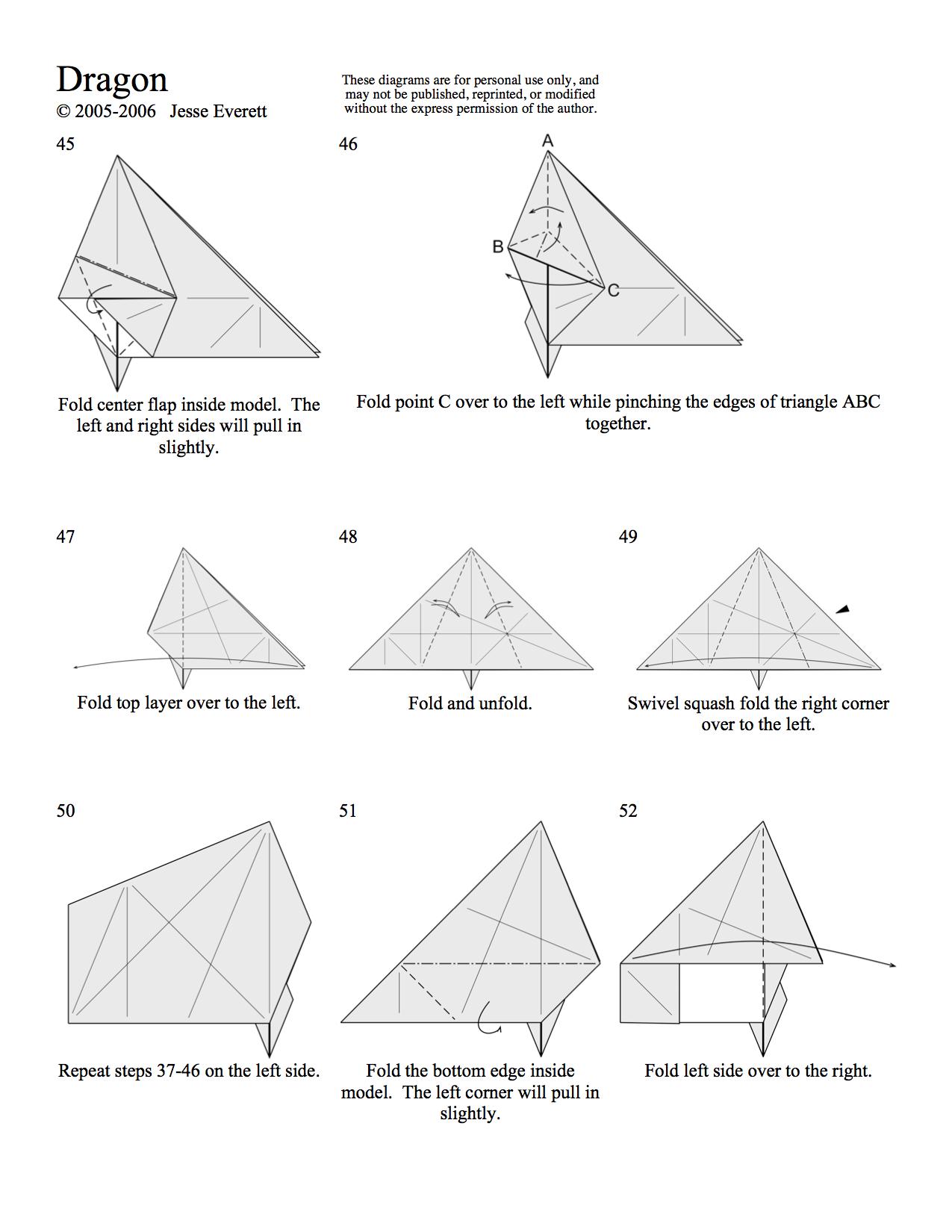 Origami Dragon Page 5