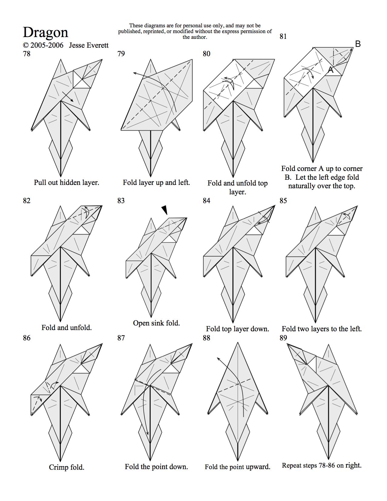 Origami Dragon Page 8