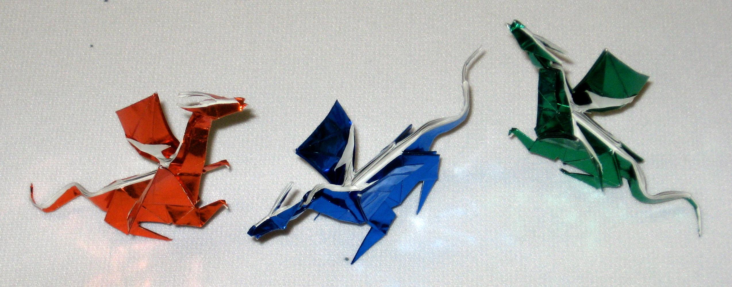 Origami Dragon – In Progress - photo#34