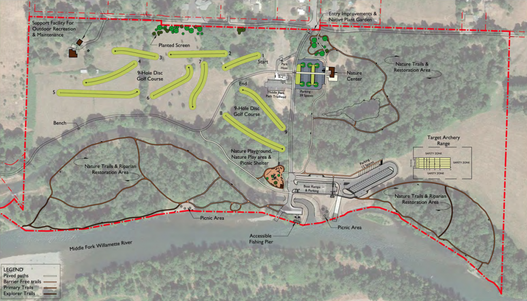Clearwater Park Approved Map