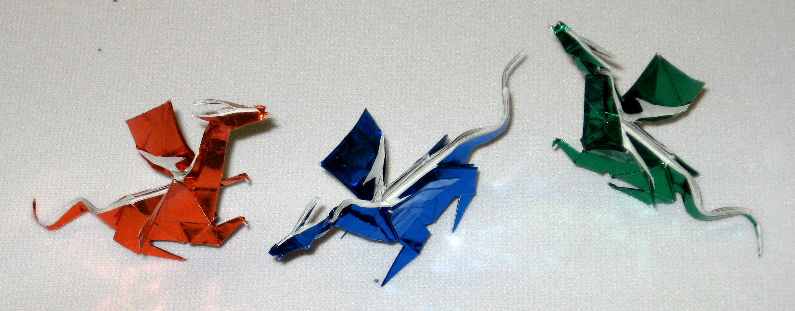 Origami Dragon | In Progress - photo#22